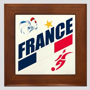 France World Cup Soccer Framed Tile