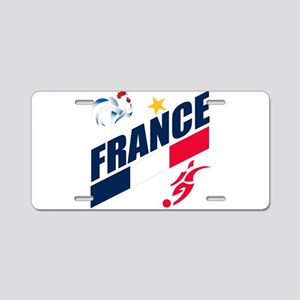 France World Cup Soccer Aluminum License Plate