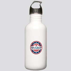 MVAREP Button Stainless Water Bottle 1.0L