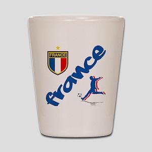 France World Cup Soccer Shot Glass