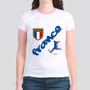 France World Cup Soccer Jr. Ringer T-Shirt
