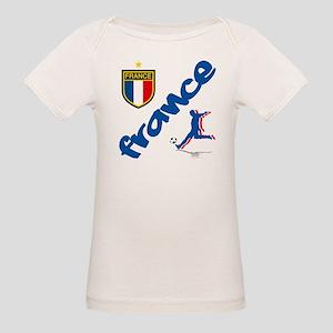 France World Cup Soccer Organic Baby T-Shirt