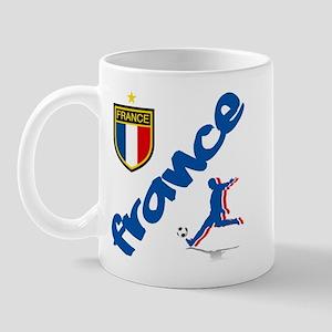 France World Cup Soccer Mug