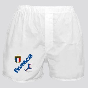 France World Cup Soccer Boxer Shorts