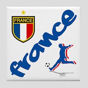 France World Cup Soccer Tile Coaster