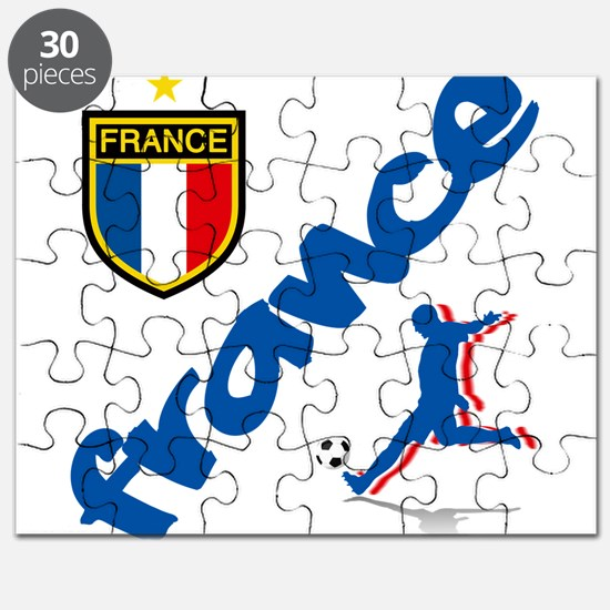 France World Cup Soccer Puzzle