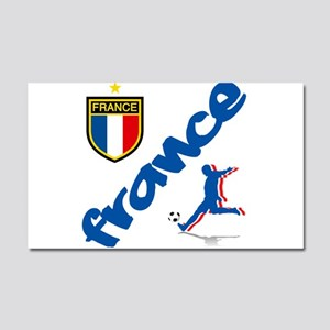 France World Cup Soccer Car Magnet 20 x 12