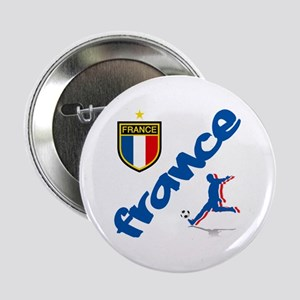 "France World Cup Soccer 2.25"" Button"