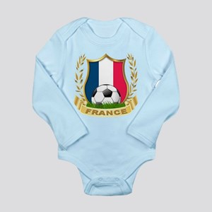 France Long Sleeve Infant Bodysuit