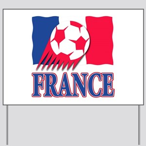 France World Cup Soccer Yard Sign