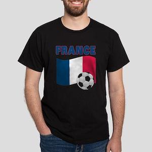 France World Cup Soccer Dark T-Shirt