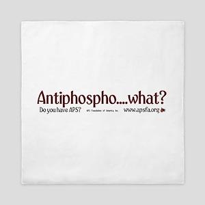 Antiphospho.....What?!?! Queen Duvet
