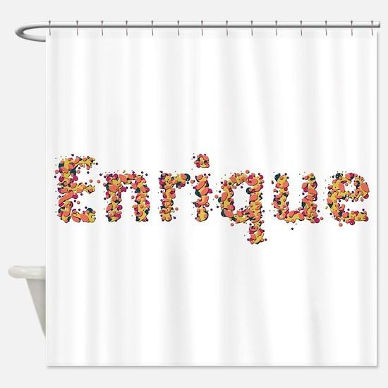Enrique Fiesta Shower Curtain