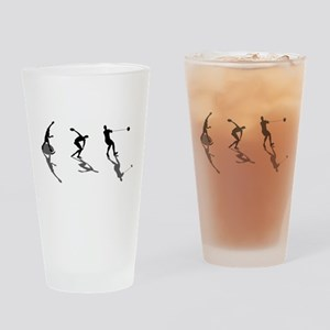 Athletics Field Events Drinking Glass