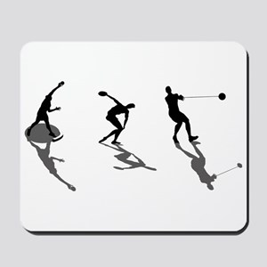 Athletics Field Events Mousepad