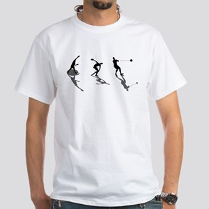 Athletics Field Events White T-Shirt
