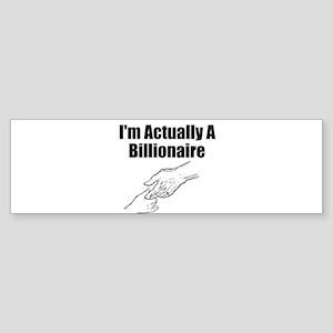 Billionaire Bumper Sticker