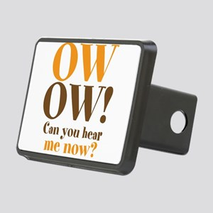 OW OW! Rectangular Hitch Cover
