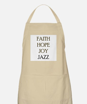 FAITH HOPE JOY JAZZ Apron