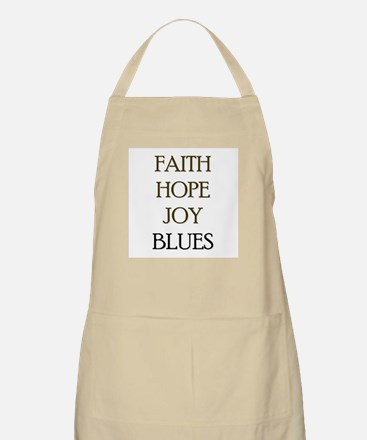 FAITH HOPE JOY BLUES Apron