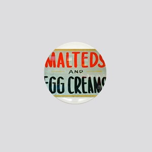 NYC: Malteds and Egg Creams Mini Button