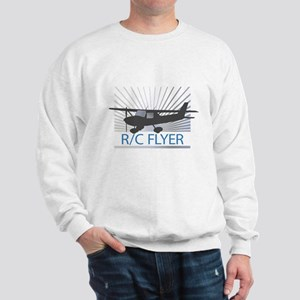 RC Flyer Hign Wing Airplane Sweatshirt