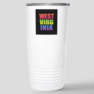 West Virginia Black Rainbow Mugs