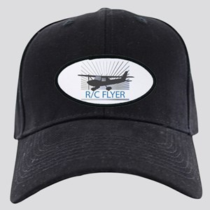 RC Flyer Hign Wing Airplane Black Cap