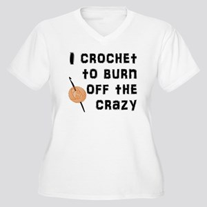 Crazy Crochet Plus Size T-Shirt