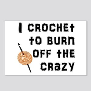 Crazy Crochet Postcards (Package of 8)