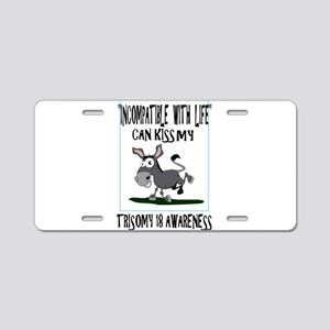 DONKEY1 Aluminum License Plate