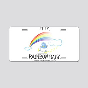 RAINBOW boy Aluminum License Plate
