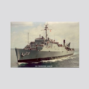 USS THOMASTON Rectangle Magnet