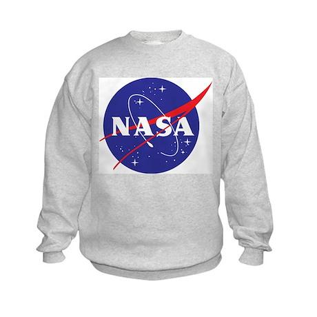 NASA Logo Kids Sweatshirt
