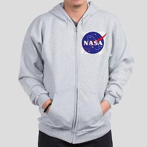 NASA Logo Zip Hoodie