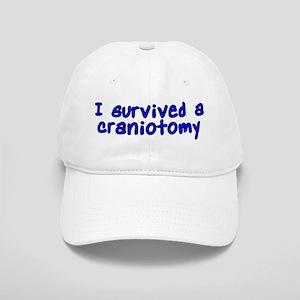 I survived a craniotomy - Cap