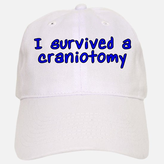 I survived a craniotomy - Hat