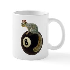 Squirrel on 8 Ball Mug