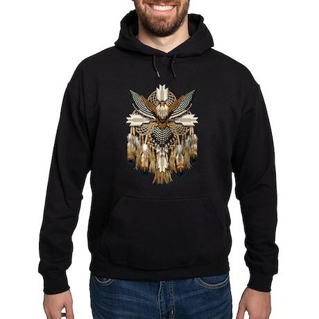 Aplomado Falcon Dreamcatcher Hoodie (dark)