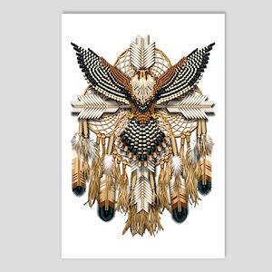 Aplomado Falcon Dreamcatcher Postcards (Package of