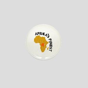Congo Africa's finest Mini Button