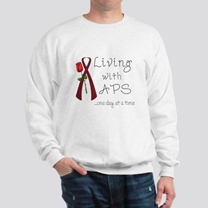 Living with APS One Day At a Time Sweatshirt
