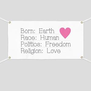 Born Race Politics Religion Banner