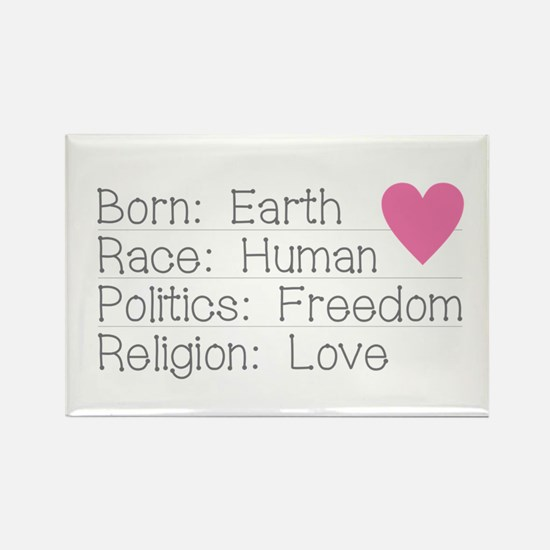 Born Race Politics Religion Magnets
