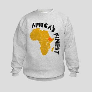 Ethiopia Africa's finest Kids Sweatshirt