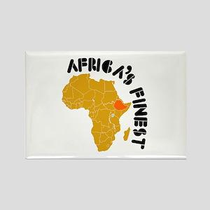 Ethiopia Africa's finest Rectangle Magnet