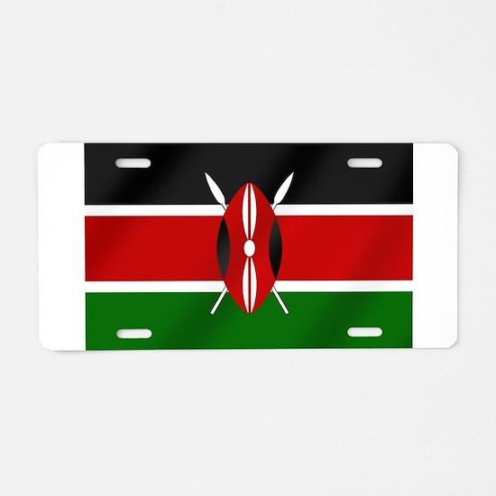 Flag of Kenya Aluminum License Plate