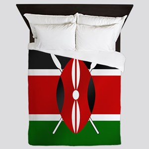 Flag of Kenya Queen Duvet