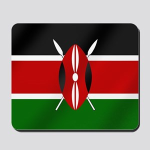 Flag of Kenya Mousepad
