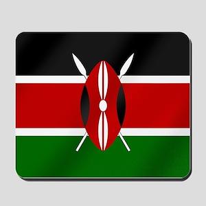 Flag of Kenya Mousepad